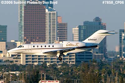 CB Richard Ellis Inc.s Cessna Citation 750 N946QS corporate aviation stock photo #7858