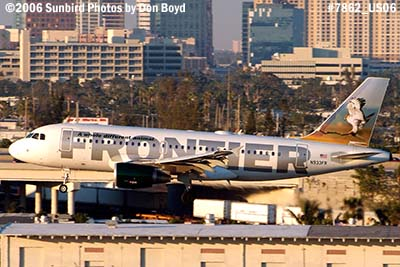 Frontier Airlines A319-111 N933FR aviation airline stock photo #7862
