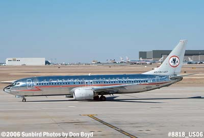 American Airlines B737-823 N951AA at DFW airline aviation stock photo #8818