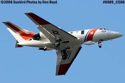 2006 - USCG HU-25 Falcon #2129 Coast Guard aviation stock photo #0089