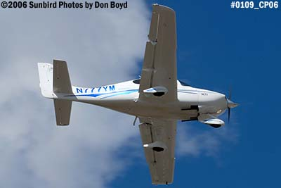 Boykie Leasing & Trading LLCs Cirrus SR20 N777YM private aviation stock photo #0109