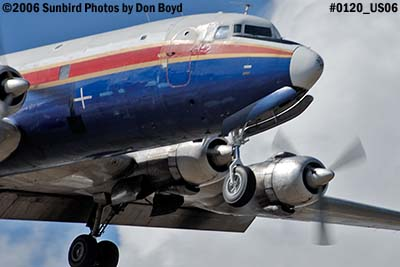 Florida Air Transport Inc.s DC-6A N70BF cargo aviation stock photo #0120