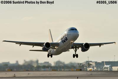 United Airlines Ted A320-232 N451UA airline aviation stock photo #0305
