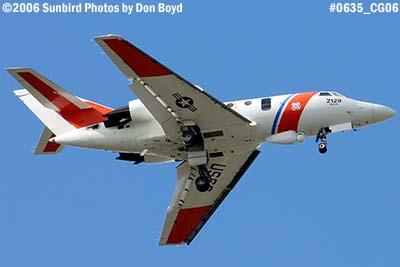 2006 - USCG HU-25C #2129 military aviation stock photo #0635
