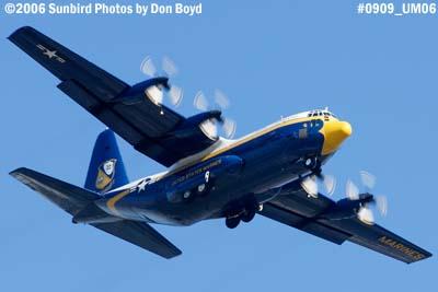 USMC Blue Angels C-130T Fat Albert (New Bert) #164763 military air show aviation stock photo #0909