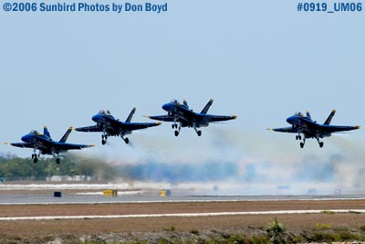 USN Blue Angels taking off from Opa-locka Airport military air show aviation stock photo #0919