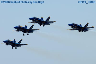 USN Blue Angels taking off from Opa-locka Airport military air show aviation stock photo #0921