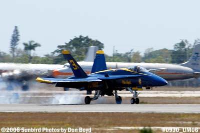 USN Blue Angel #3 military air show aviation stock photo #0930