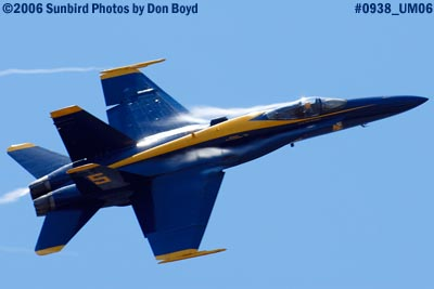 USN Blue Angel #5 military air show aviation stock photo #0938