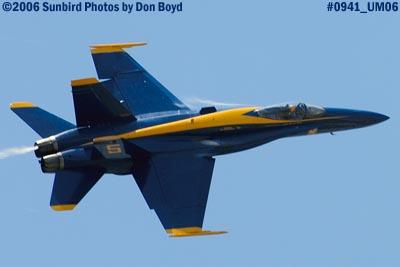 USN Blue Angel #5 military air show aviation stock photo #0941