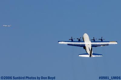 USMC Blue Angels C-130T Fat Albert (New Bert) #164763 takeoff military air show aviation stock photo #0988