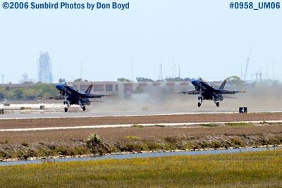 USN Blue Angels takeoff at Opa-locka Airport air show aviation stock photo #0958