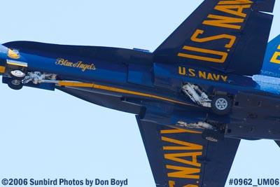 USN Blue Angels #2 takeoff at Opa-locka Airport air show aviation stock photo #0962