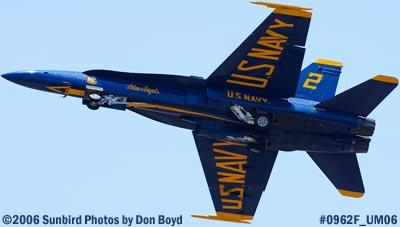 USN Blue Angels #2 takeoff at Opa-locka Airport air show aviation stock photo #0962F