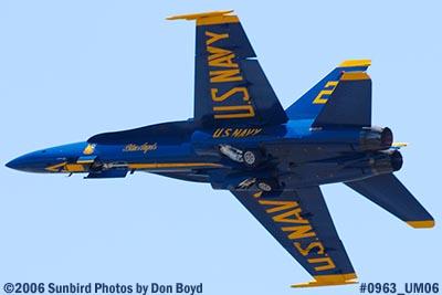 USN Blue Angels #2 takeoff at Opa-locka Airport air show aviation stock photo #0963