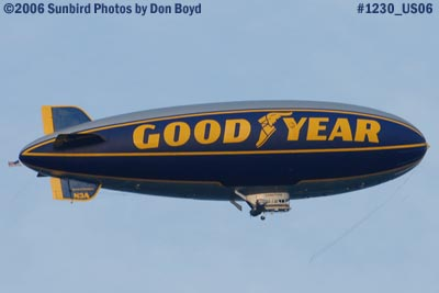 Goodyear Blimp GZ-20A N3A Spirit of Goodyear aviation stock photo #1230