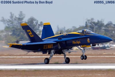 USN Blue Angel #2 at Opa-locka Airport military air show aviation stock photo #0995