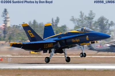 USN Blue Angel #6 military air show aviation stock photo #0998