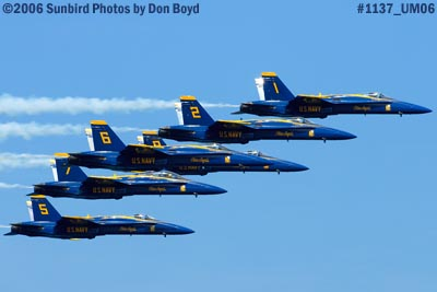 USN Blue Angels at 2006 Air & Sea practice show military air show aviation stock photo #1137