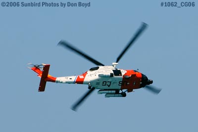 2006 - USCG HH-60J Jayhawk #6039 at 2006 Air & Sea practice show military air show stock photo #1062