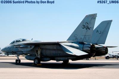 USN F-14 Tomcat military air show stock photo #9267