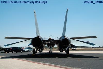 USN F-14 Tomcat military air show stock photo #9268