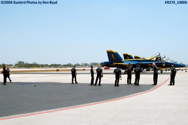 Part of the Blue Angels ground crew military air show stock photo #9274