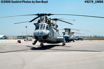 USMC CH-46E Sea Knights military air show stock photo #9279