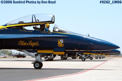 USN Blue Angels #7 F/A-18 Hornet military air show aviation stock photo #9262