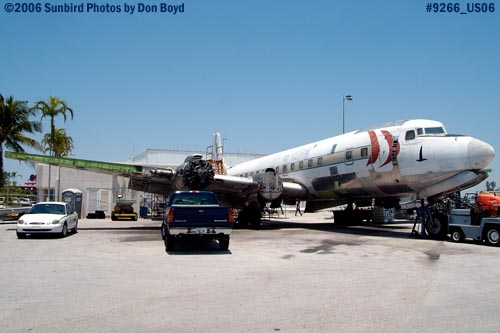 Legendary Airliners DC-7B N836D aviation aircraft stock photo #9266