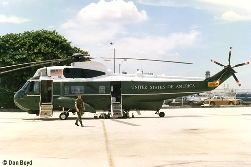 Mid 90s - USMC Sikorsky VH-3D Sea King #159360 used as Marine One Presidential helicopter