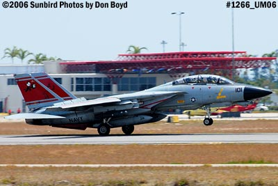 USN Grumman F-14D-170-GR Tomcat #164603 military aviation air show stock photo #1266