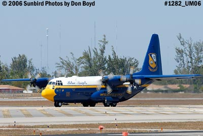USMC Blue Angels C-130T Fat Albert (New Bert) #164763 taxiing out aviation stock photo #1282