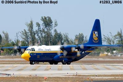 USMC Blue Angels C-130T Fat Albert (New Bert) #164763 taxiing out aviation stock photo #1283
