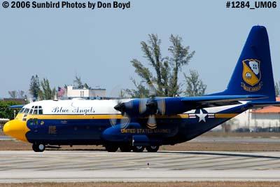 USMC Blue Angels C-130T Fat Albert (New Bert) #164763 taxiing out aviation stock photo #1284