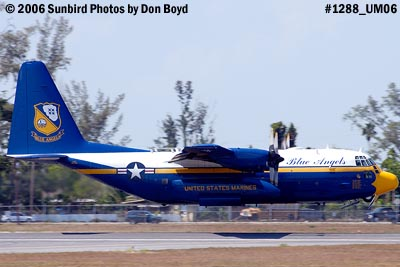 USMC Blue Angels C-130T Fat Albert (New Bert) #164763 takeoff aviation stock photo #1288