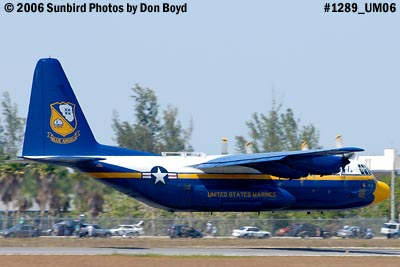 USMC Blue Angels C-130T Fat Albert (New Bert) #164763 takeoff aviation stock photo #1289