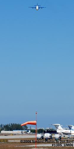 USMC Blue Angels C-130T Fat Albert (New Bert) #164763 steep landing sequence aviation stock photo #1305