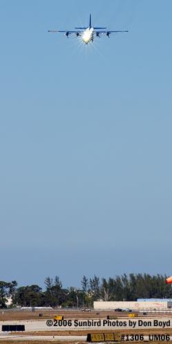 USMC Blue Angels C-130T Fat Albert (New Bert) #164763 steep landing sequence aviation stock photo #1306