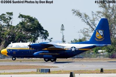 USMC Blue Angels C-130T Fat Albert (New Bert) #164763 steep landing sequence aviation stock photo #1310