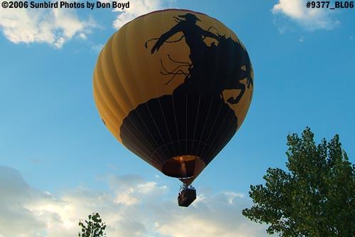 Hot air balloon launches at Colorado Springs aviation stock photo #9377