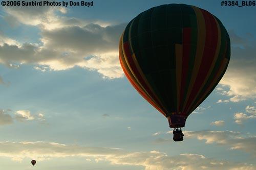 Hot air balloon launches at Colorado Springs aviation stock photo #9384