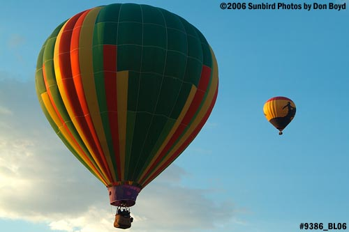 Hot air balloon launches at Colorado Springs aviation stock photo #9386