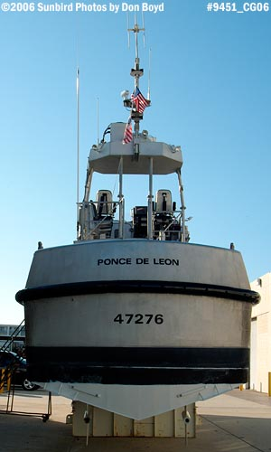 2006 - Coast Guard Motor Lifeboat CG-47276 from CGSTA Ponce de Leon Inlet military stock photo #9451