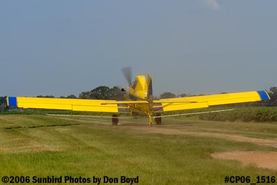 Dixon Brothers Flying Service Air Tractor AT-402 N4555E crop duster aviation stock photo #CP06_1516