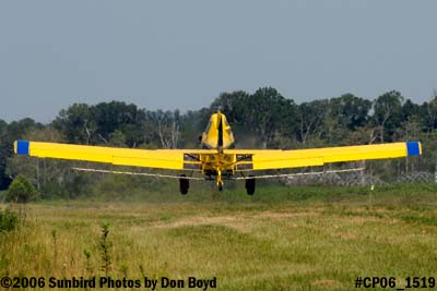 Dixon Brothers Flying Service Air Tractor AT-402 N4555E crop duster aviation stock photo #CP06_1519