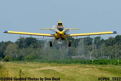 Dixon Brothers Flying Service Air Tractor AT-402 N4555E crop duster aviation stock photo #CP06_1522