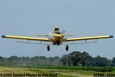 Dixon Brothers Flying Service Air Tractor AT-402 N4555E crop duster aviation stock photo #CP06_1524