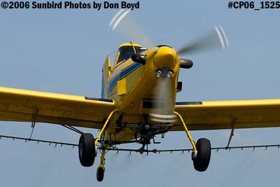 Dixon Brothers Flying Service Air Tractor AT-402 N4555E crop duster aviation stock photo #CP06_1525