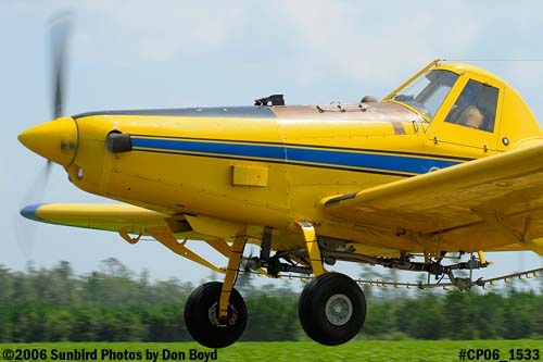Dixon Brothers Flying Service Air Tractor AT-402 N4555E crop duster aviation stock photo #CP06_1533